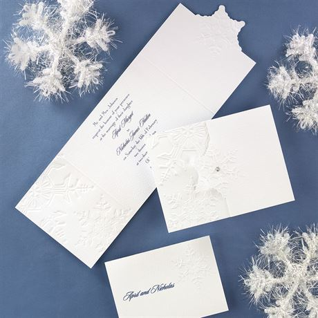 "Winter""s Elegance Invitation"