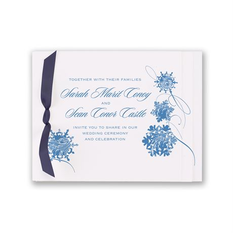 Snow Flurry Invitation