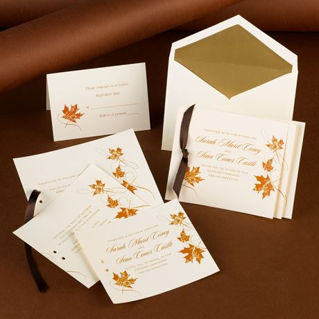 Fashionable Fall - Invitation
