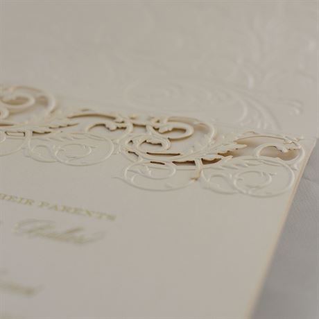 Vintage Escape - Laser Cut Invitation
