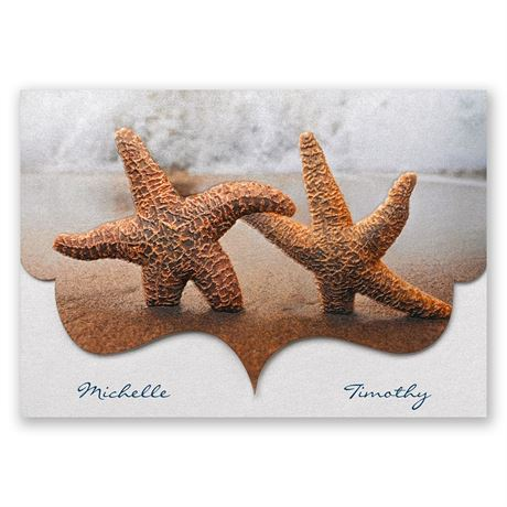 Smitten Starfish Invitation