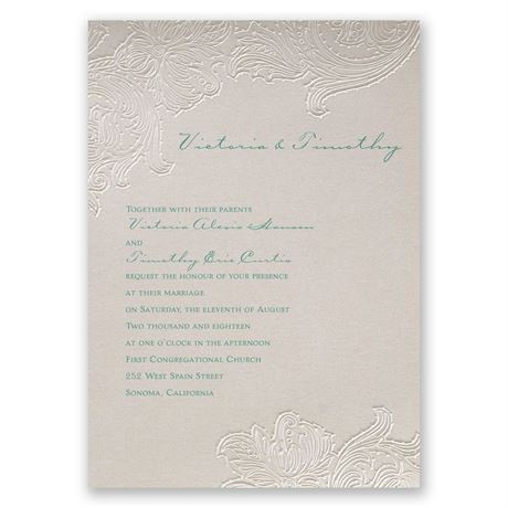 Flourishing Flowers Invitation