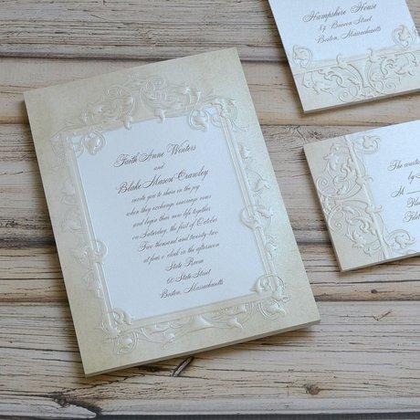 Regal Finish - Invitation