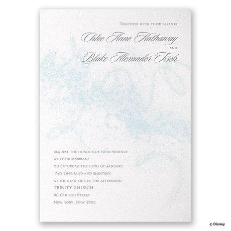 Disney - Icy Swirls Invitation - Elsa