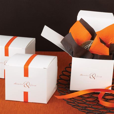 Ribbon Cake Box