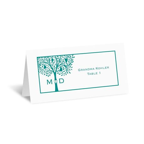 Tree of Love - Escort Card