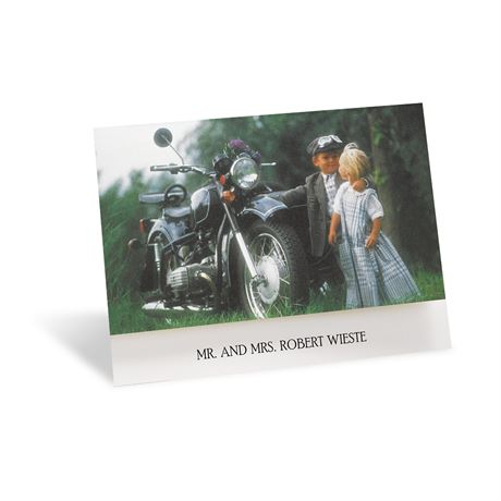 Riding High On Love Note Card And Envelope