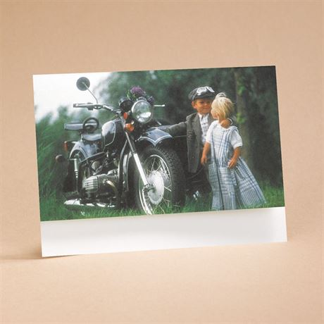 Riding High On Love Reception Card