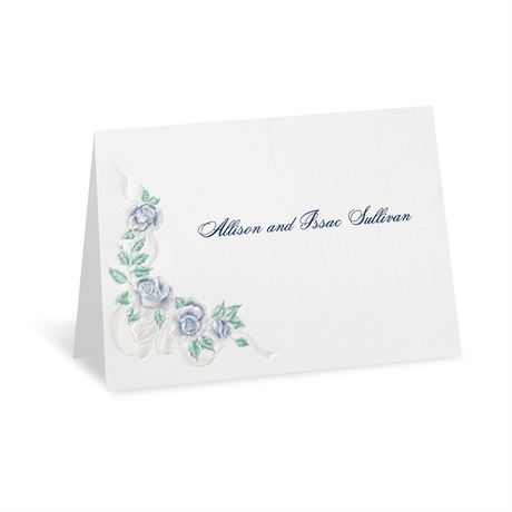 "Isn""t It Romantic Note Card and Envelope"