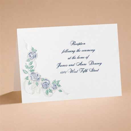 Isnt It Romantic Reception Card