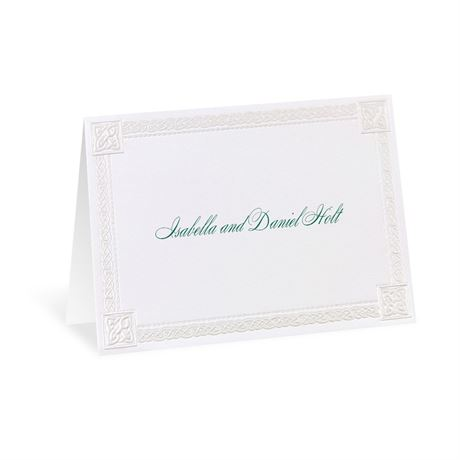 Love Knot Note Card and Envelope