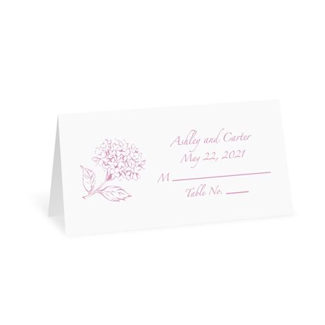 White Design Choice Place Card