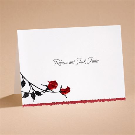 Striking Note Card and Envelope