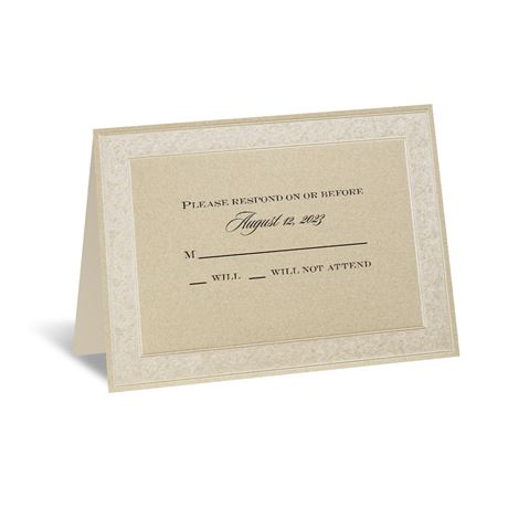Framed in Luxury Response Card