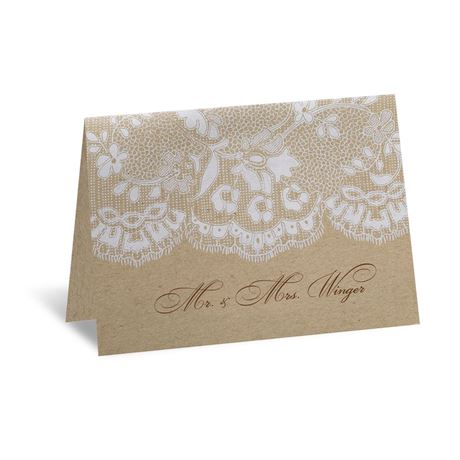 Naturally Romantic - Thank You Card