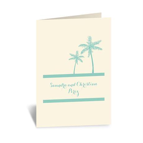 Dream Destination - Ecru - Thank You Card