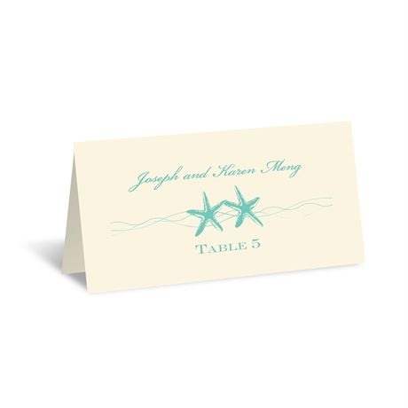 Sweet Starfish - Ecru - Escort Card
