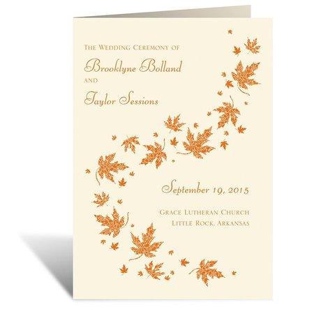 Graceful Leaves - Ecru - Program