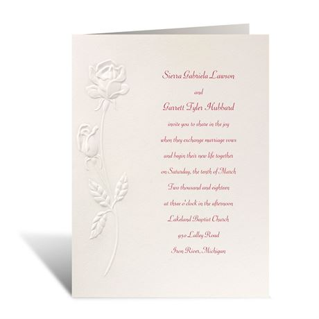True Love Invitation
