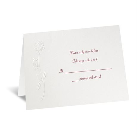 True Love Response Card and Envelope