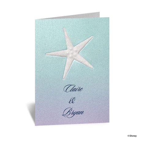 Disney Mermaid Treasures Note Card Ariel
