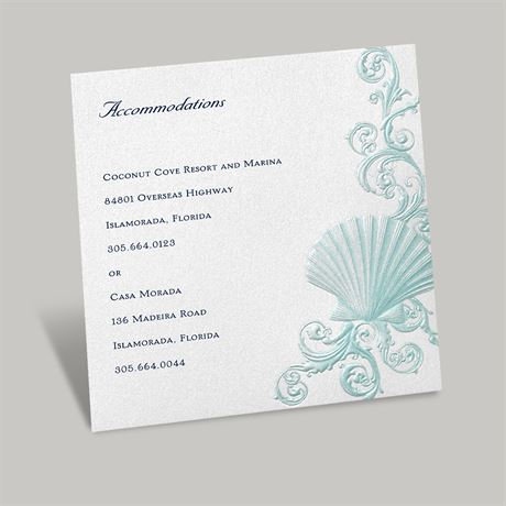 Disney Beneath the Waves Accommodations Card Ariel