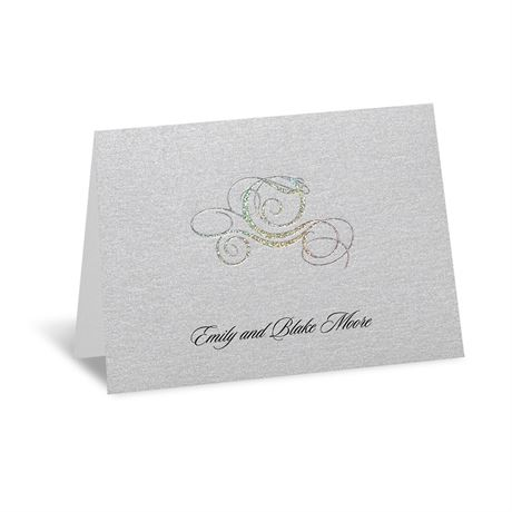 Disney Fairy Tale Carriage Note Card