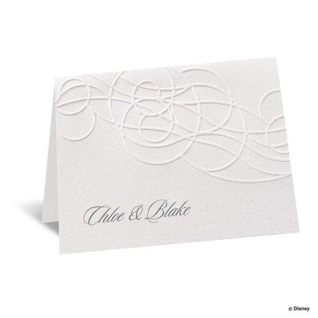 Disney Icy Swirls Note Card Elsa
