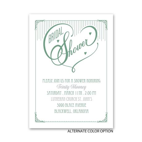 Show of Love - Petite Bridal Shower Invitation