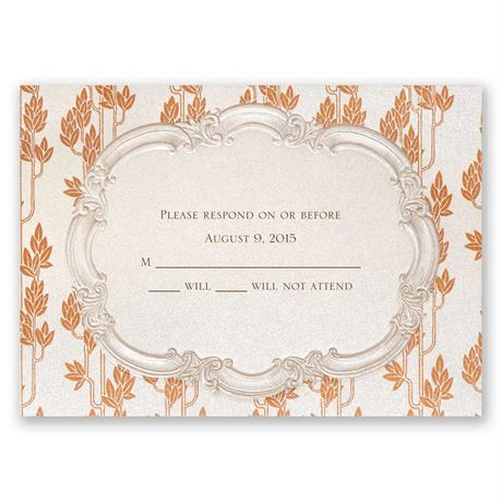 Autumn Vintage Response Card