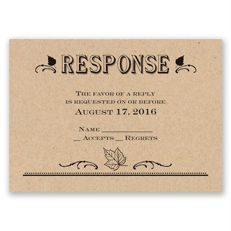 Big Celebration Response Card
