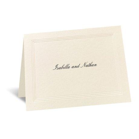 Prelude Informal Card and Envelope