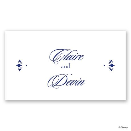 Disney Golden Fairy Tale Personalized Tag
