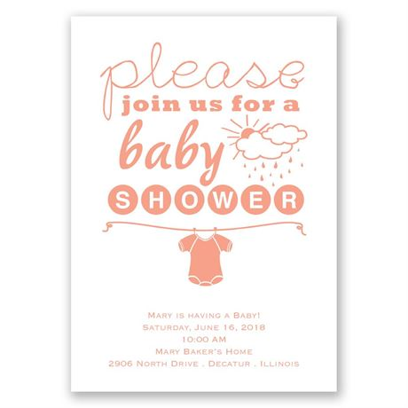 Please Join Us Baby Shower Invitation