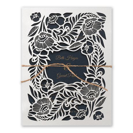 Woodland Window Laser Cut Invitation Invitations By Dawn