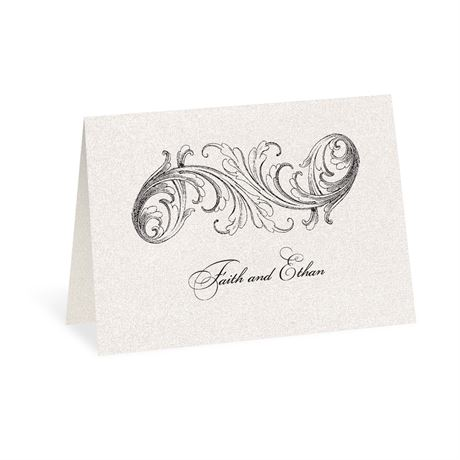 Elegance and Grace Thank You Card