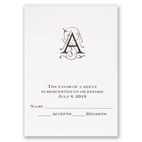 Sheer Sophistication Response Card