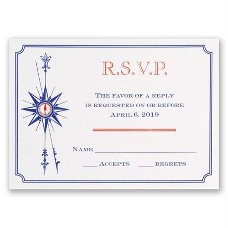Seafaring Love Response Card