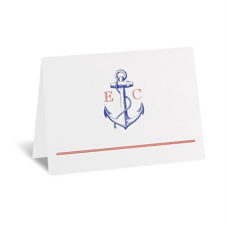 Seafaring Love Thank You Card