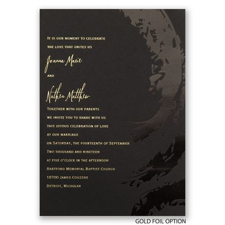 Bold & Refined - Foil Invitation
