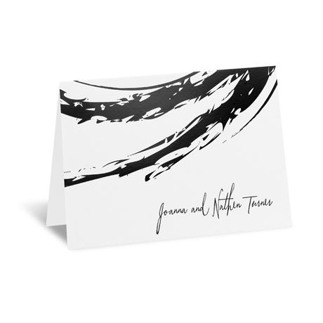 Bold & Refined Foil Thank You Card