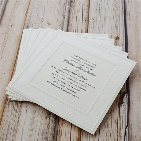 Elegant Display - Invitation