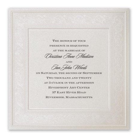 Elegant Display - Invitation