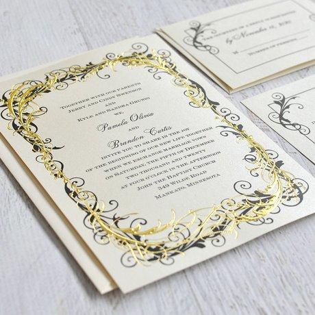 Flourishing Beauty - Invitation