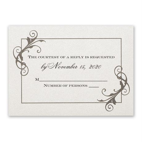 Flourishing Beauty Response Card