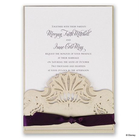 Disney Deco Lily Invitation Tiana