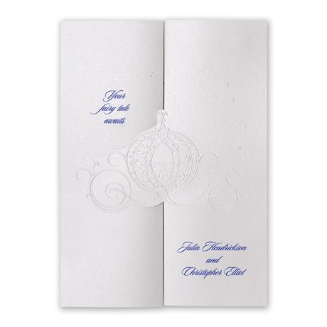 Disney - Royal Carriage Invitation - Cinderella