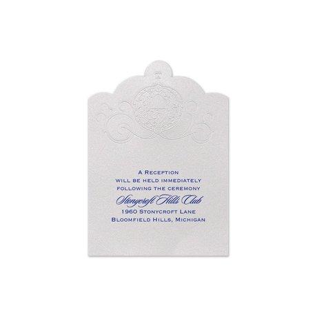 Disney Royal Carriage Reception Card Cinderella