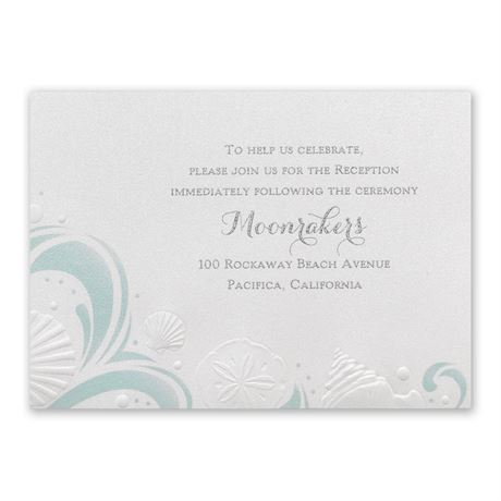 Disney Ocean Wonders Reception Card Ariel