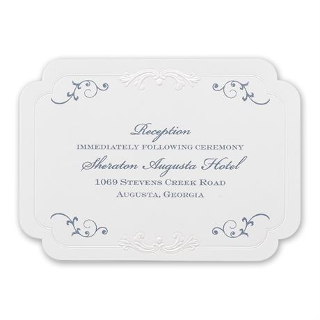 Disney Pretty Princess Reception Card